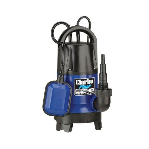 Clarke PSV6A 400W Submersible Pump With Folding Base 133 Litres/Min 240V~50Hz